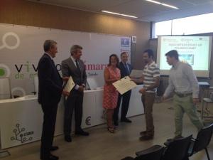 Al finalizar el campamento intensivo, los alumnos del Innovation Startup Toledo Camp 2014 recibieron un certificado por su implicación y  aprovechamiento.